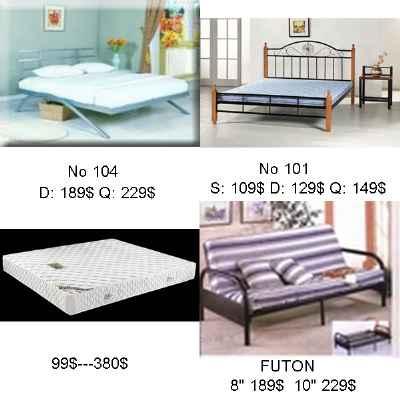 100 neuf matelas lit futon prix super bas for Econoprix meubles
